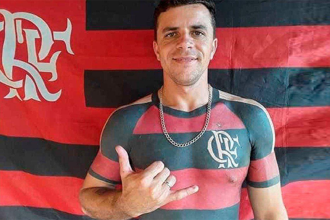 Fanático del Flamengo se tatuó la camiseta del club de sus amores
