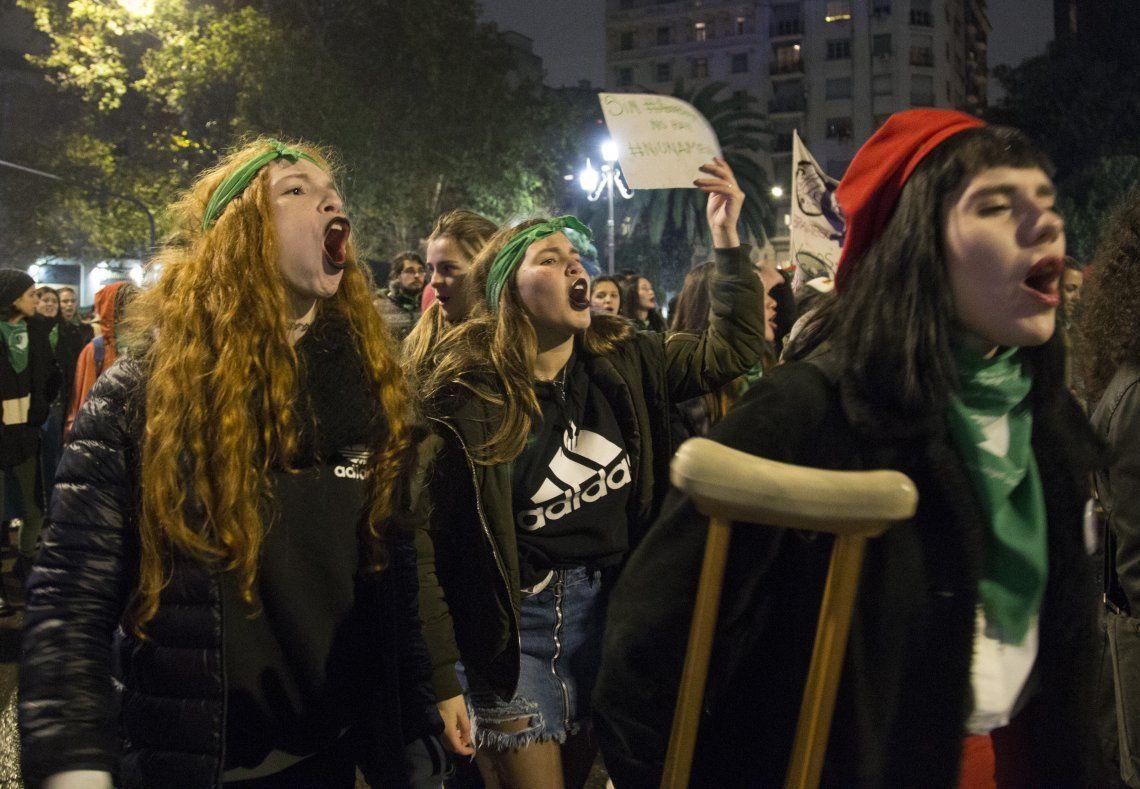 El aborto, las tarifas y el FMI: los reclamos que se hicieron oír en la marcha #NiUnaMenos