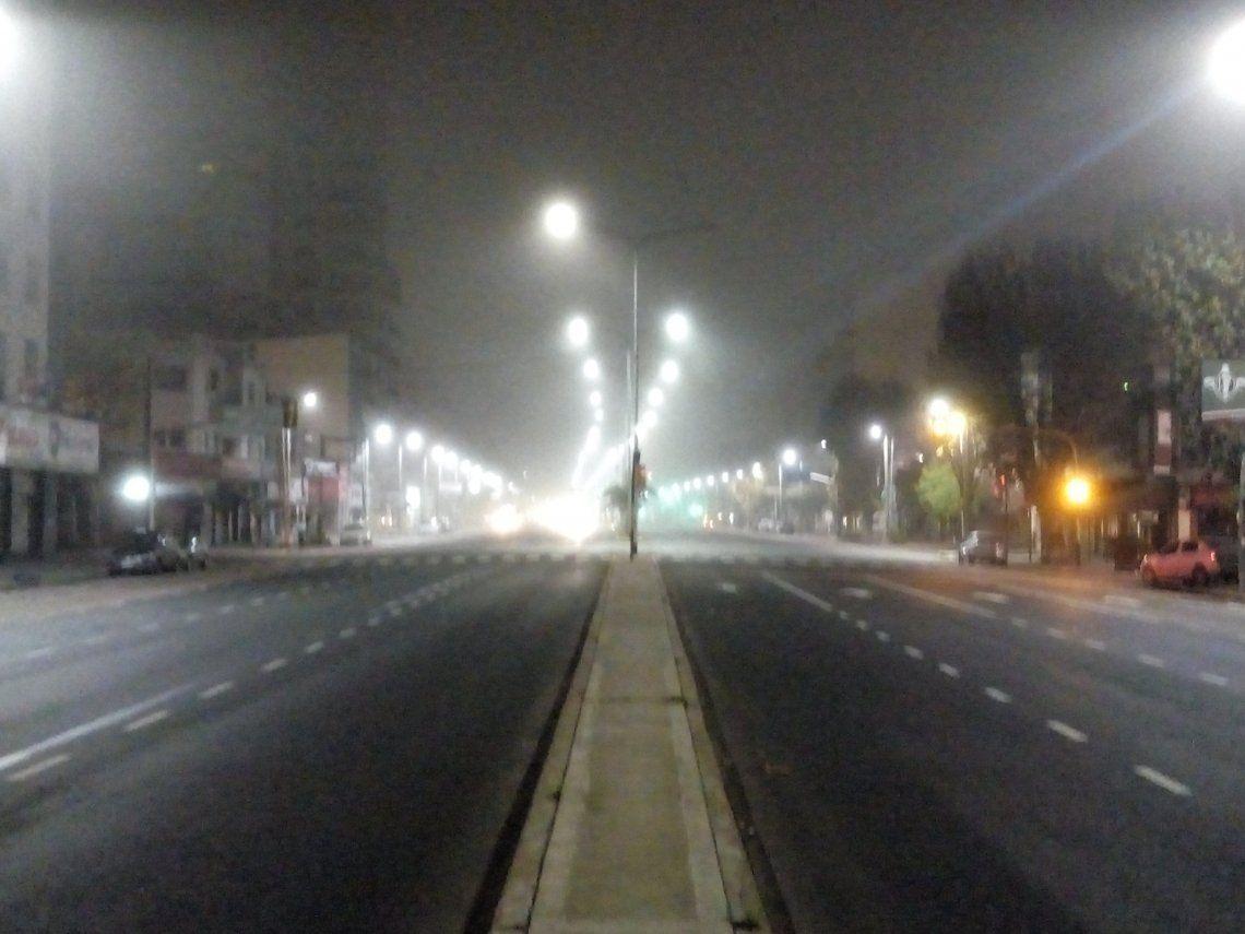 ¡No se ve nada! Por la niebla, piden precaución al circular por la ciudad y alrededores