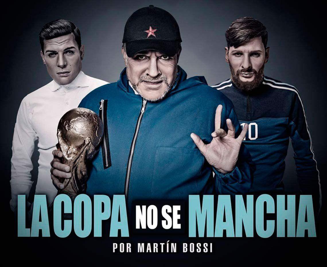 Martin Bossi y una nueva parodia para el Mundial con Maradona y Bilardo
