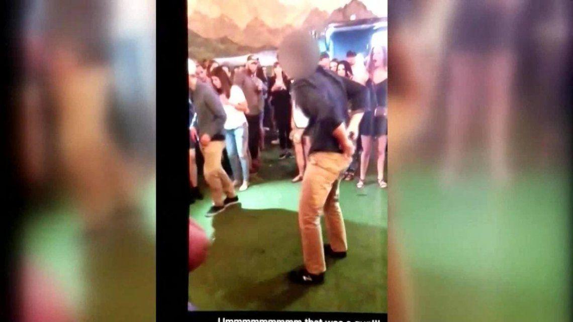 Agente del FBI bailaba break dance, se le cayó la pistola y baleó a una persona