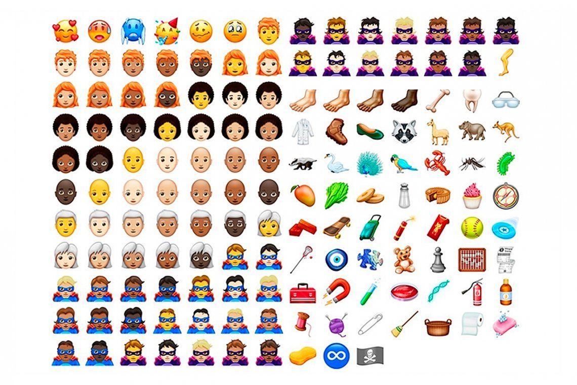 Estos son los nuevos emojis que podrás usar en WhatsApp y redes sociales