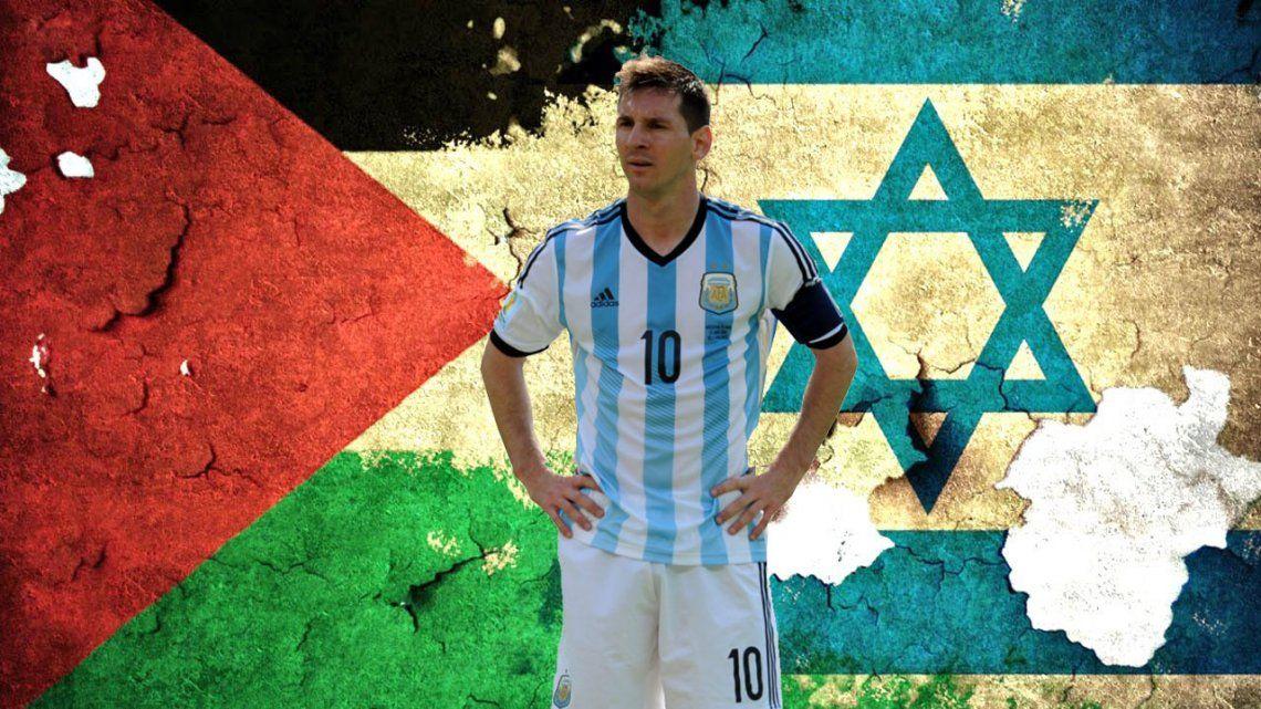 Por la presión política, Argentina no jugará el amistoso frente a Israel