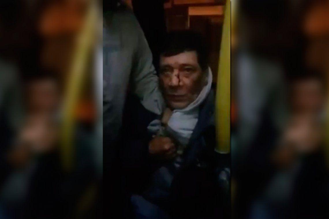 Video | Acosó a una adolescente en un colectivo, fue filmado y quedó detenido