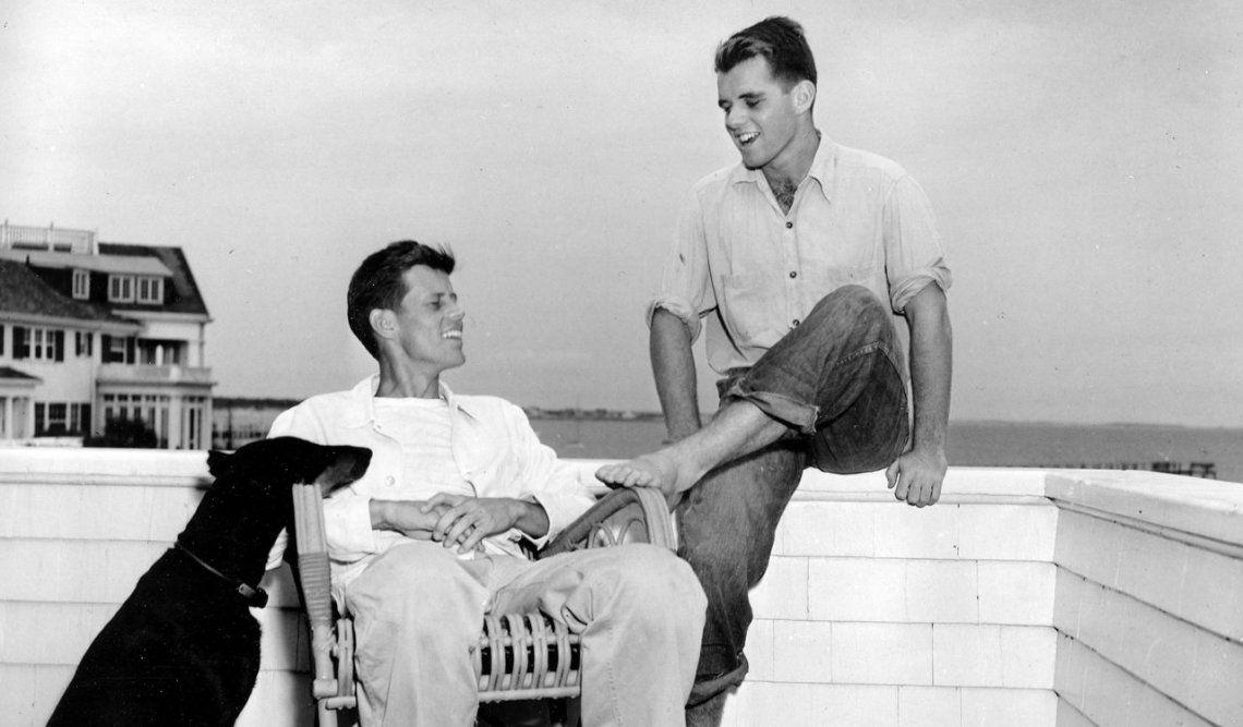 John F. Kennedy y Robert Kennedy
