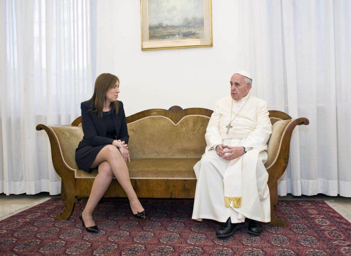 Vidal viajó a Roma para reunirse con el Papa Francisco