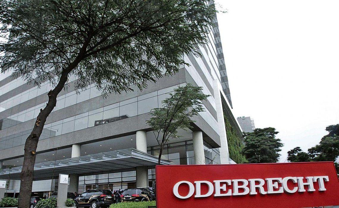dEl frente de la empresa brasileña Odebrecht.