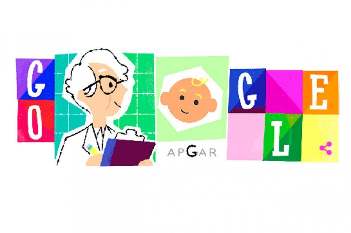 Google rinde homenaje a Virginia Apgar, el ángel de los neonatos