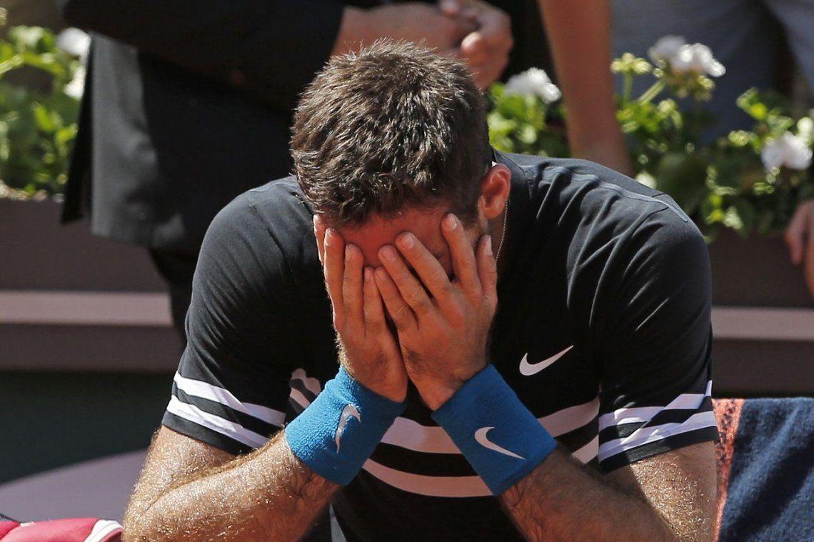 La victoria de Del Potro y la derrota de Schwartzman, en fotos