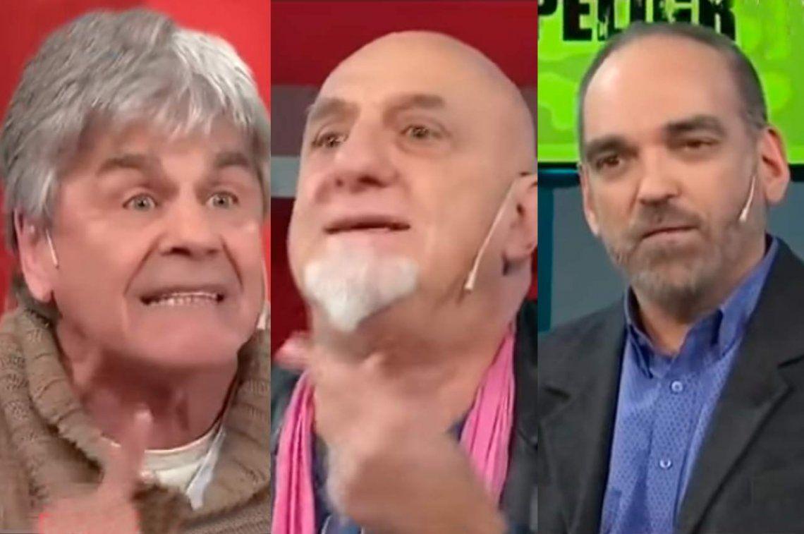Sacadísimo, Raúl Rizzo se trenzó en vivo con Juan Acosta y Fernando Iglesias