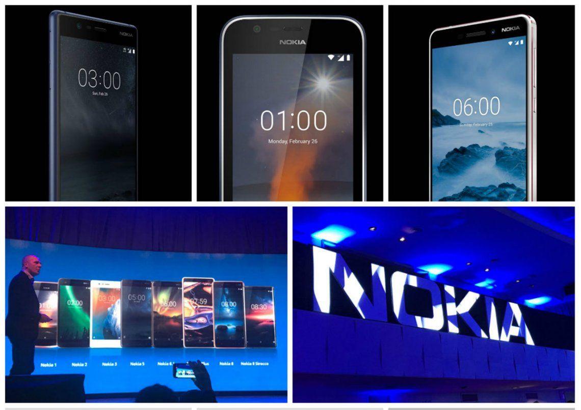 Nokia anunció su regreso a la Argentina tras la fallida experiencia con Lumia
