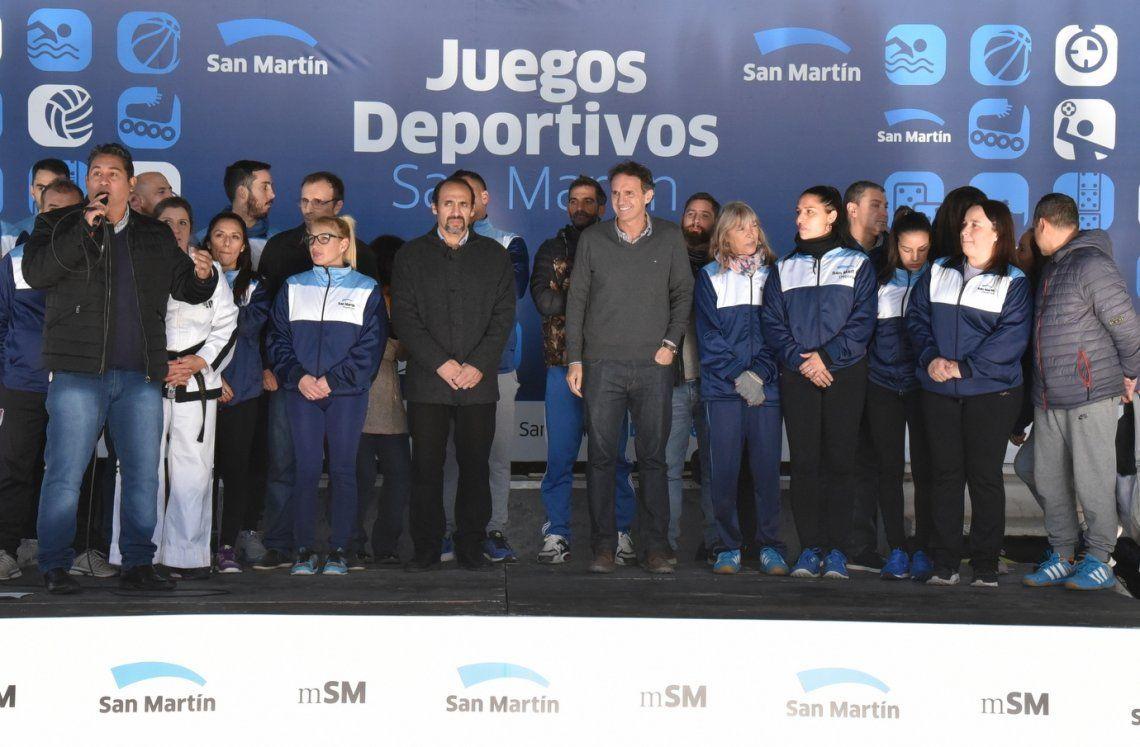 Comenzaron los Juegos Deportivos San Martín