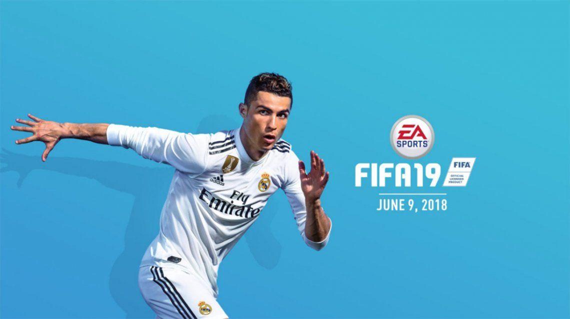 FIFA 19: presentan los primeros detalles, con Cristiano Ronaldo en la tapa