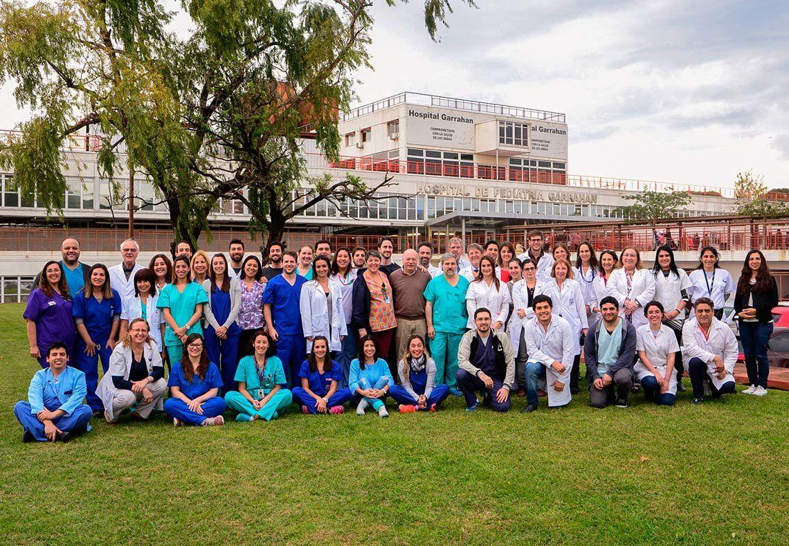Récord: hicieron 5 trasplantes pediátricos en 36 horas en el Hospital Garraham