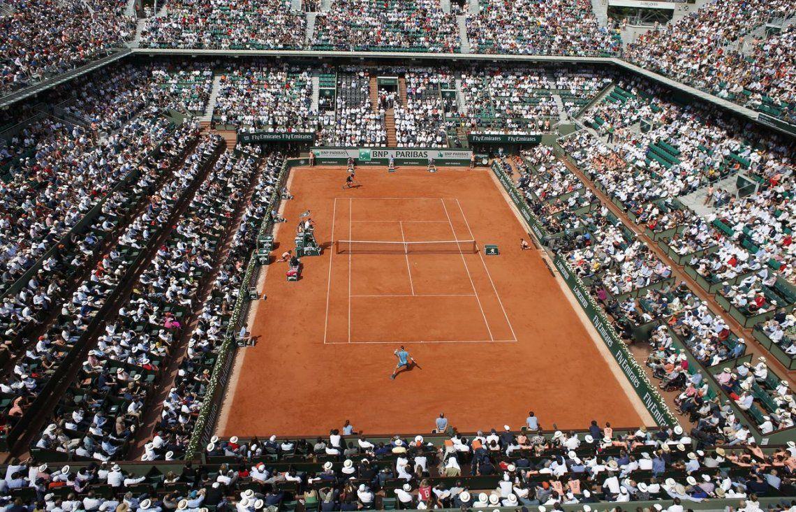 Las mejores fotos del partido entre Del Potro y Rafael Nadal