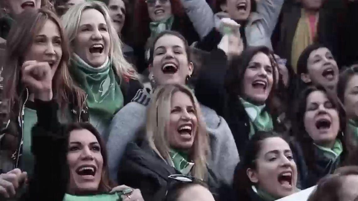 Ni una menos por el aborto: el nuevo video de las actrices por la despenalización del aborto