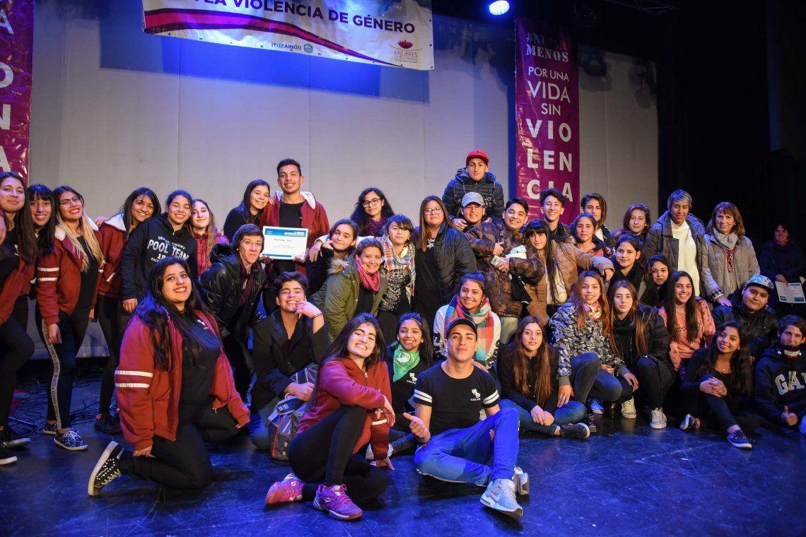 Jornada intercolegial por el Día de la No Violencia en el Noviazgo
