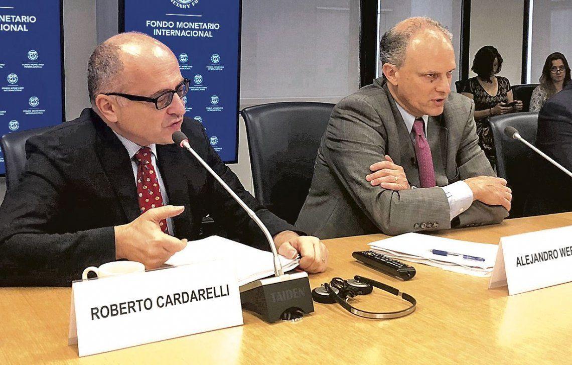 dRoberto Cardarelli y Alejandro Werner hablaron sobre la situación argentina luego del anuncio de la ayuda.