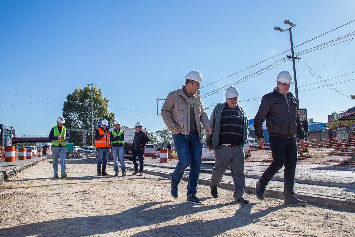Avanza la construcción del Metrobus de Calchaquí
