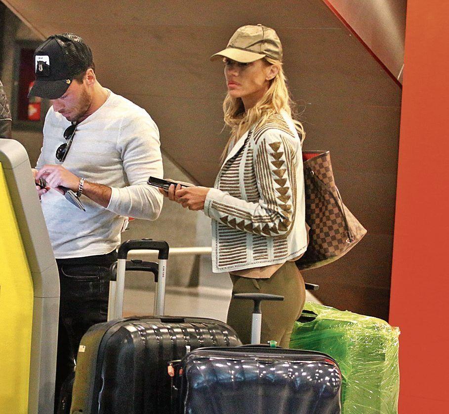 Nicole se fue a Miami con nuevo novio