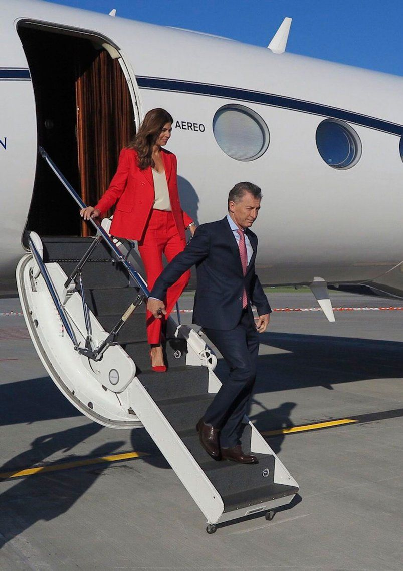 Mauricio Macri llegó a Canadá para participar de la cumbre del G7 y reunirse con Christine Lagarde