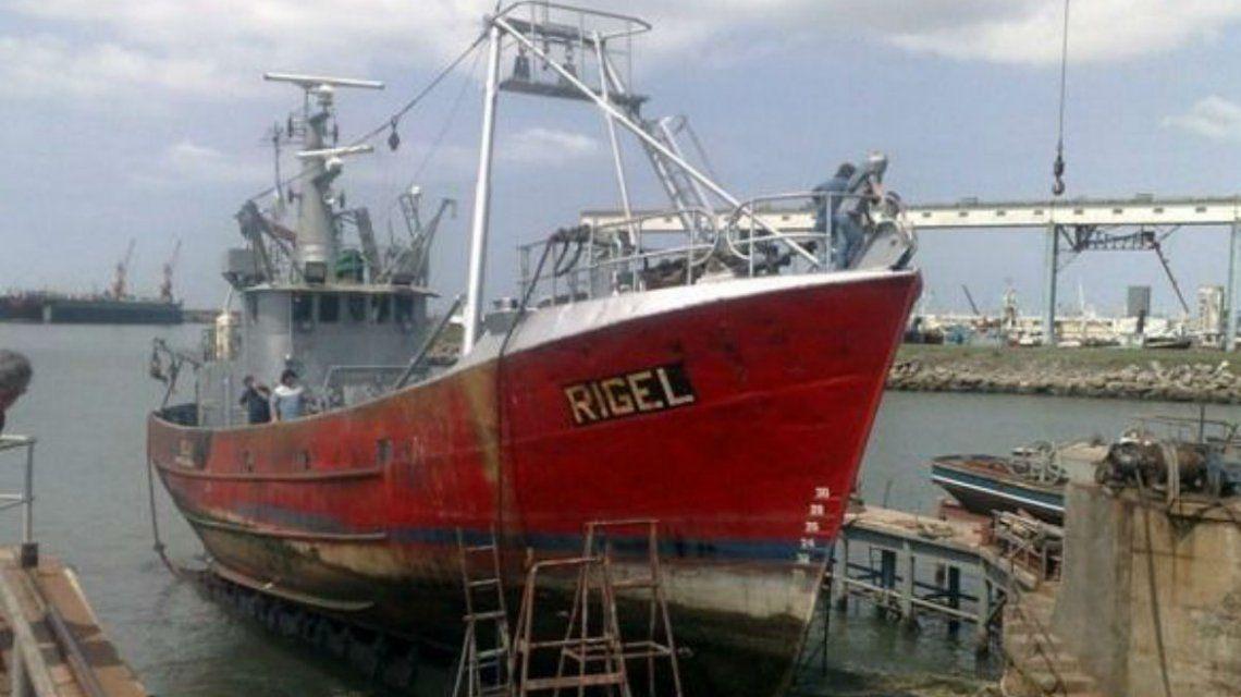 Intensa búsqueda de pesquero marplatense que se perdió en Chubut