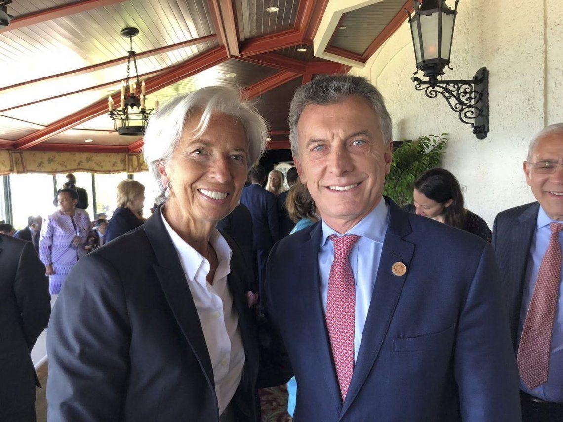 Christine Lagarde dijo que el plan del Gobierno de Mauricio Macri fortalecerá la economía del país