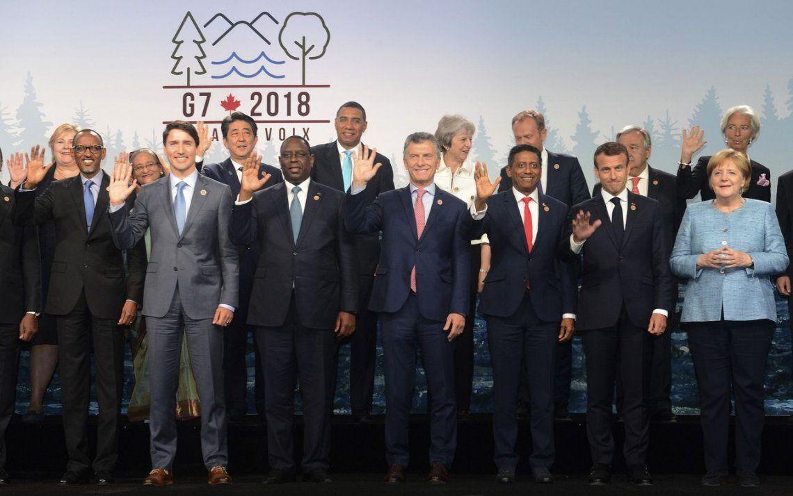 El G7 destinará US$3000 millones en educación para mujeres y niñas en crisis