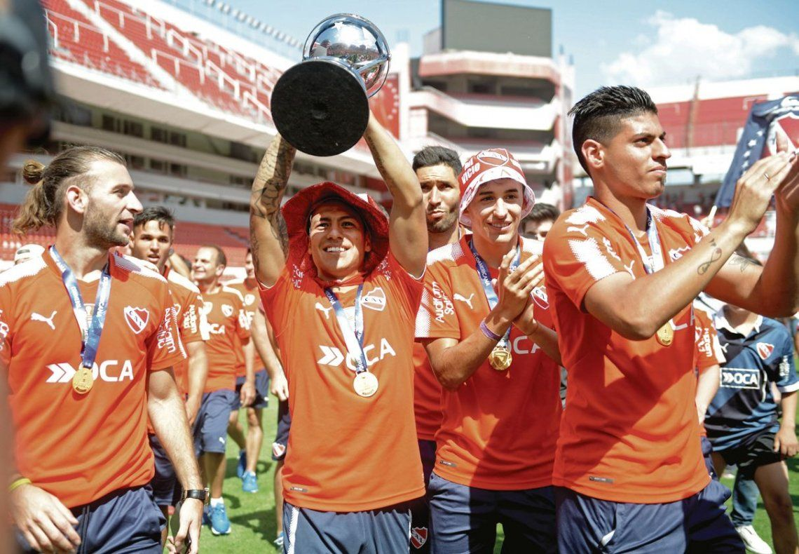 dMaximiliano Meza fue campeón de la Sudamericana con Independiente.