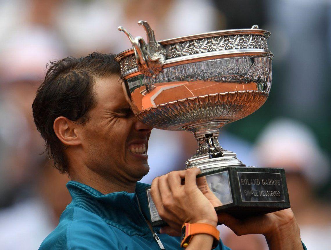 En fotos: Rafa Nadal conquistó su 11mo Roland Garros y lo festejó así