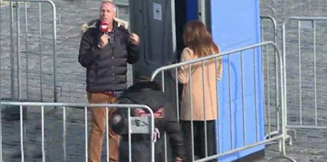Un policía ruso echó a Marley y a Lizy Tagliani del estudio de Por el Mundo
