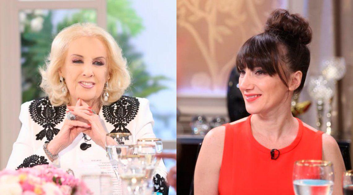 Jorgelina Aruzzi y su sarcasmo con Legrand: No aborte si está en contra, Mirtha