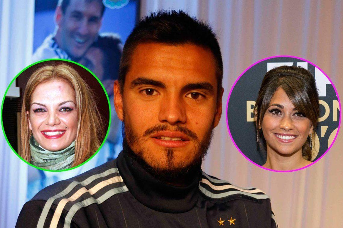 Chiquito Romero contó cómo se arreglaron Eliana Guercio y Antonela Roccuzzo