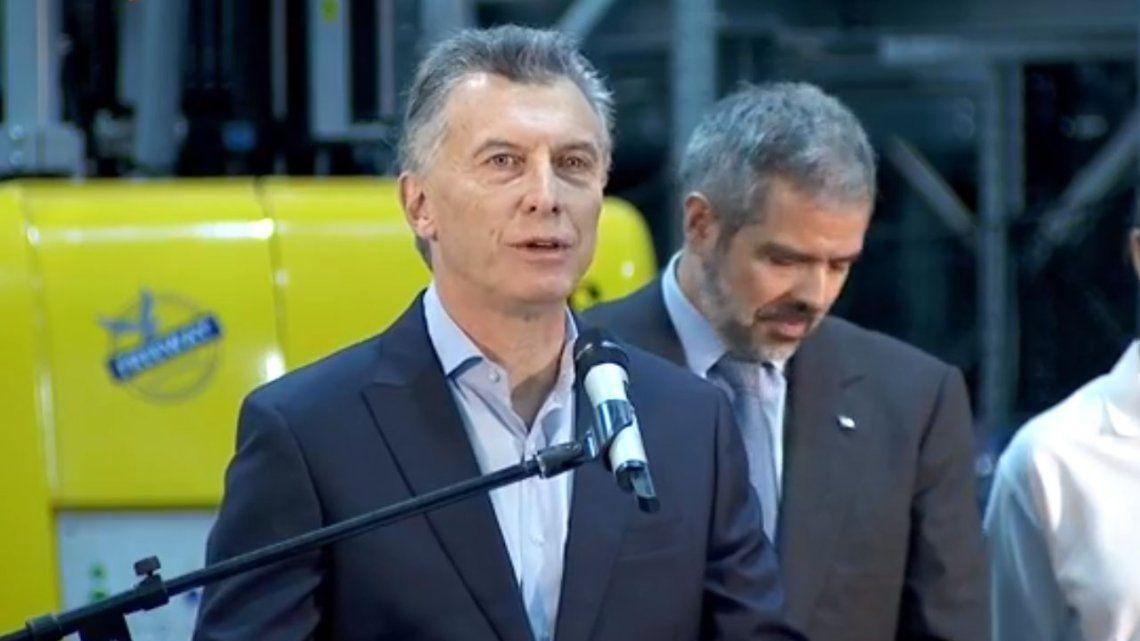 Macri: Volví a sentir el apoyo de los principales países del mundo