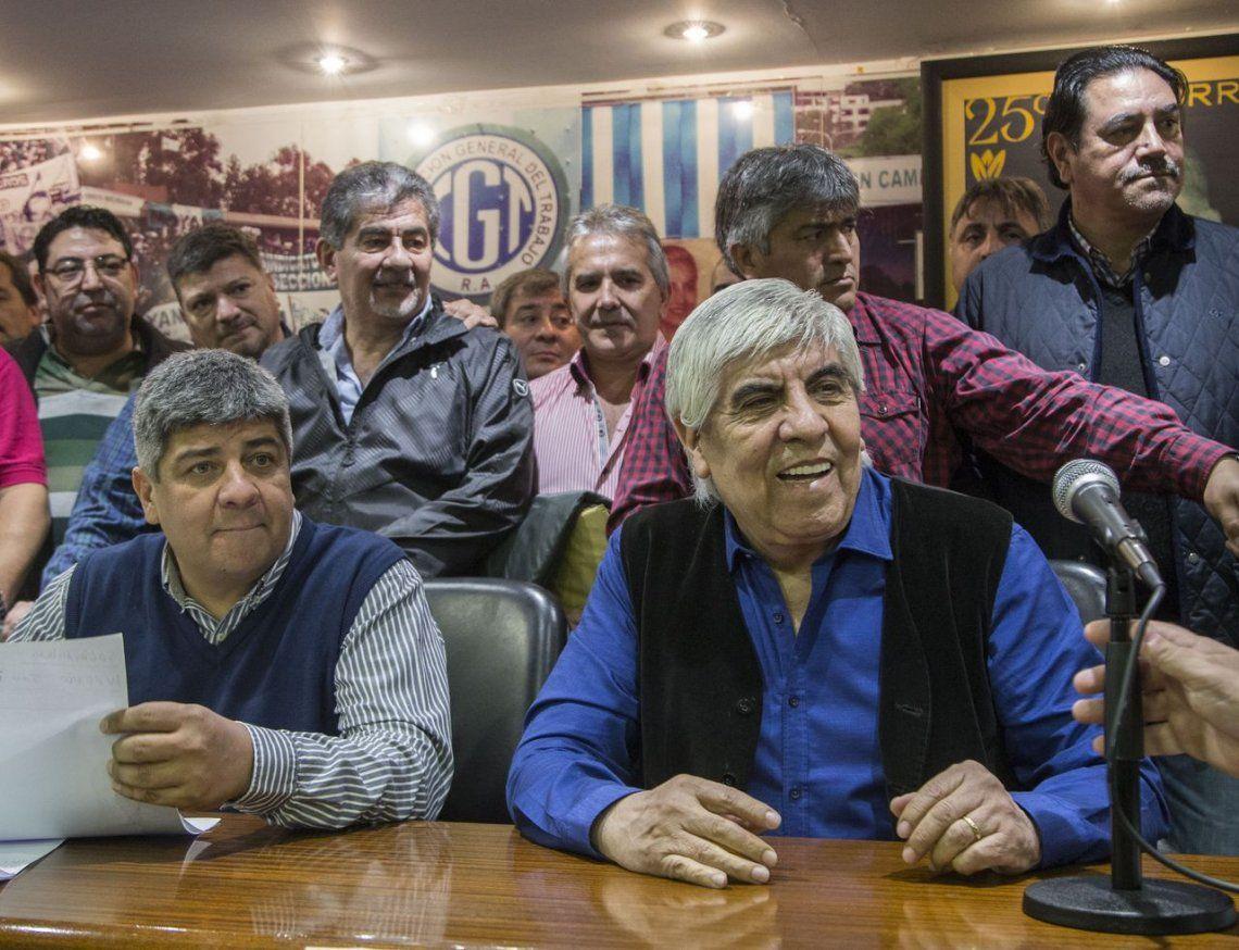 Moyano ratificó el paro de Camioneros para este jueves
