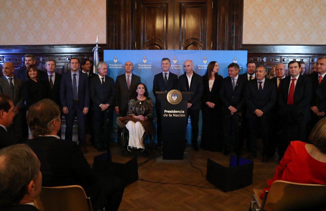 Macri presentó Argentina sin narcotráfico ante gobernadores y jueces de la Corte