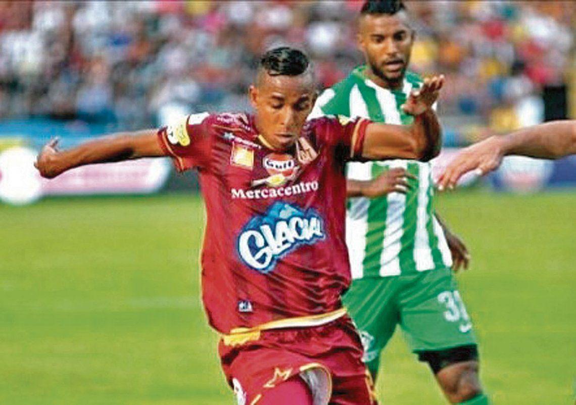 dSebastián Villa llega proveniente del Deportes Tolima y viene de ser campeón del torneo colombiano.