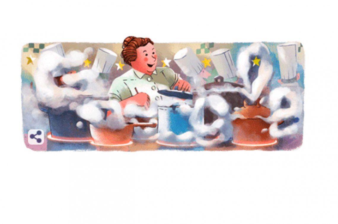 Google homenajea a Eugénie Brazier, la madre de la cocina francesa tradicional