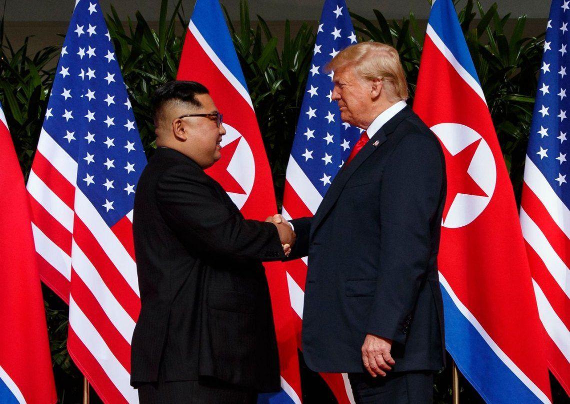 Trump y Kim acordaron la desnuclearización completa de la península coreana
