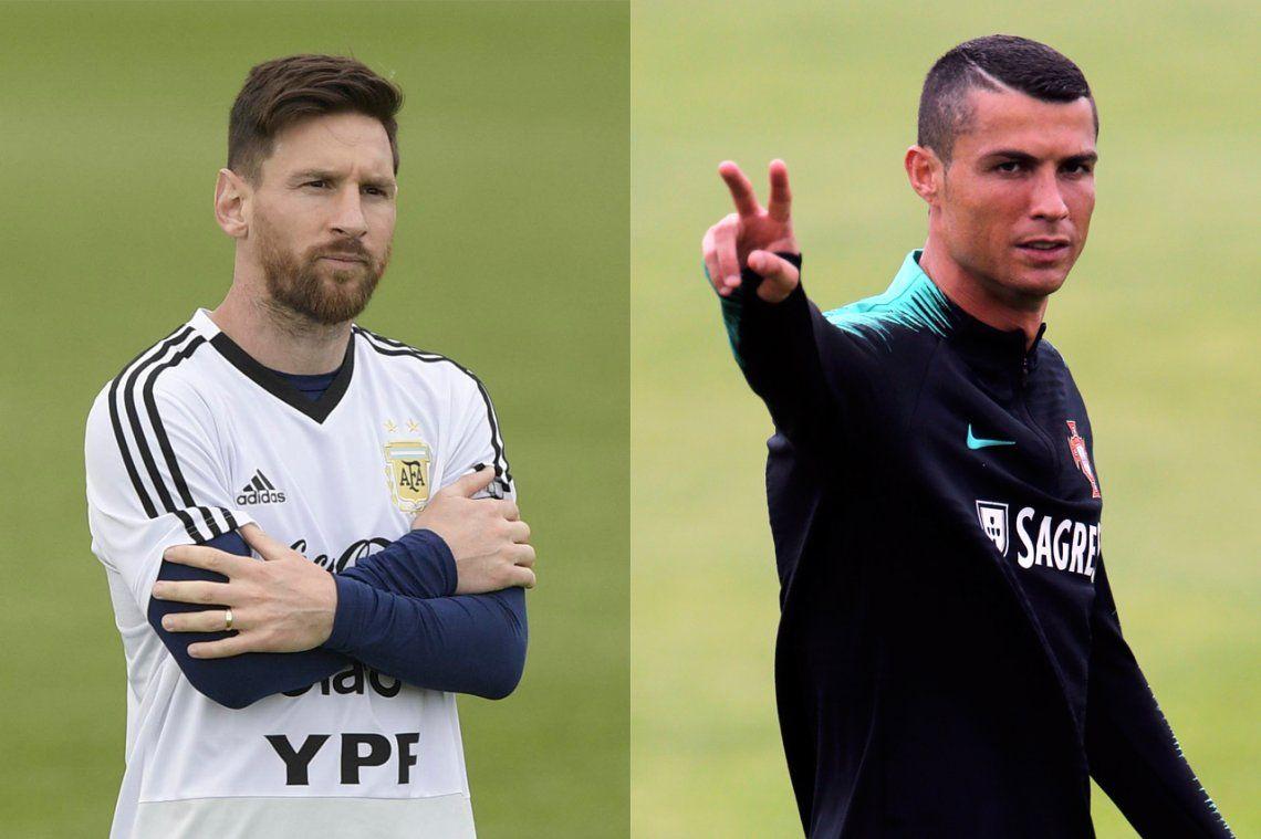 Messi-CR7, hoy en Rusia, una rivalidad sin fronteras