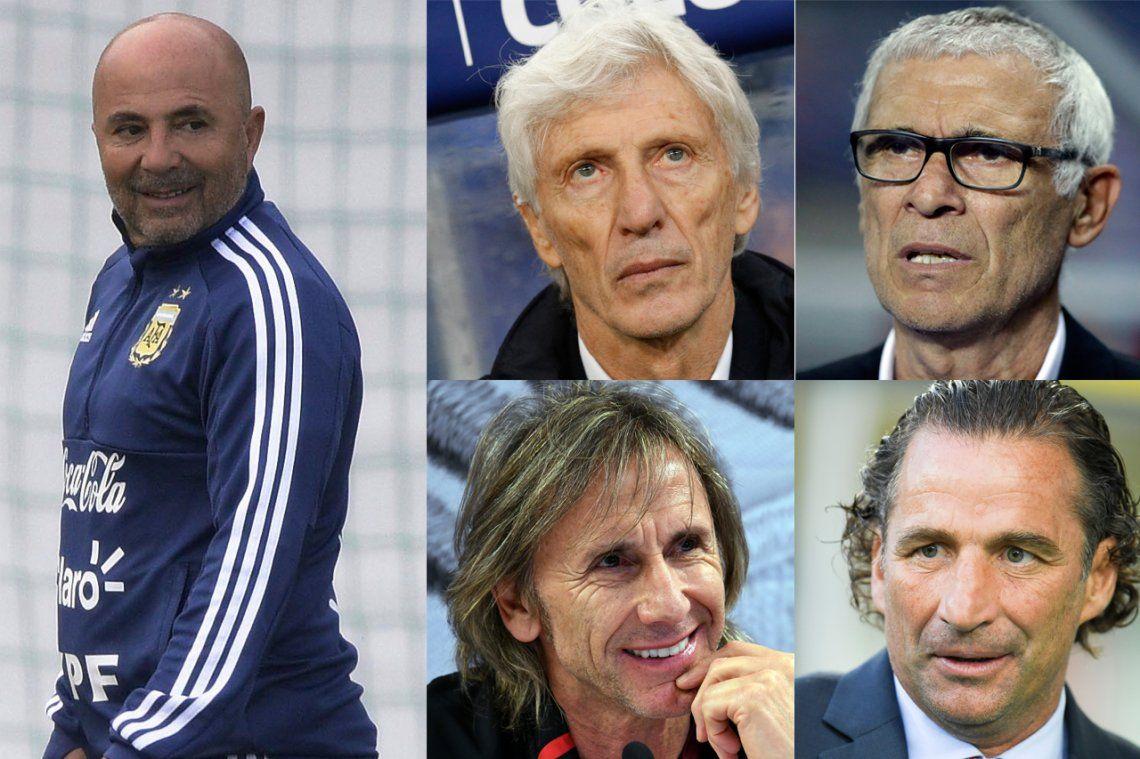 Argentina ya ganó por goleada en la cantidad de entrenadores