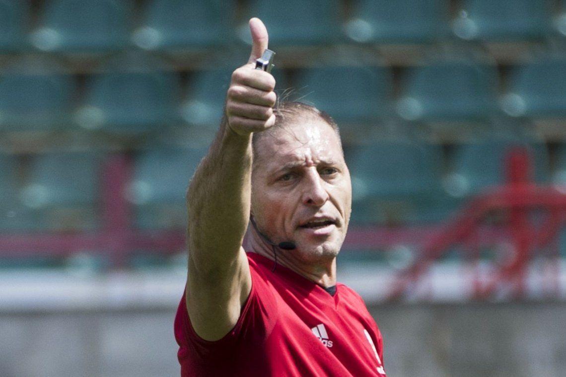 Néstor Pitana, el árbitro del partido inaugural de Rusia 2018
