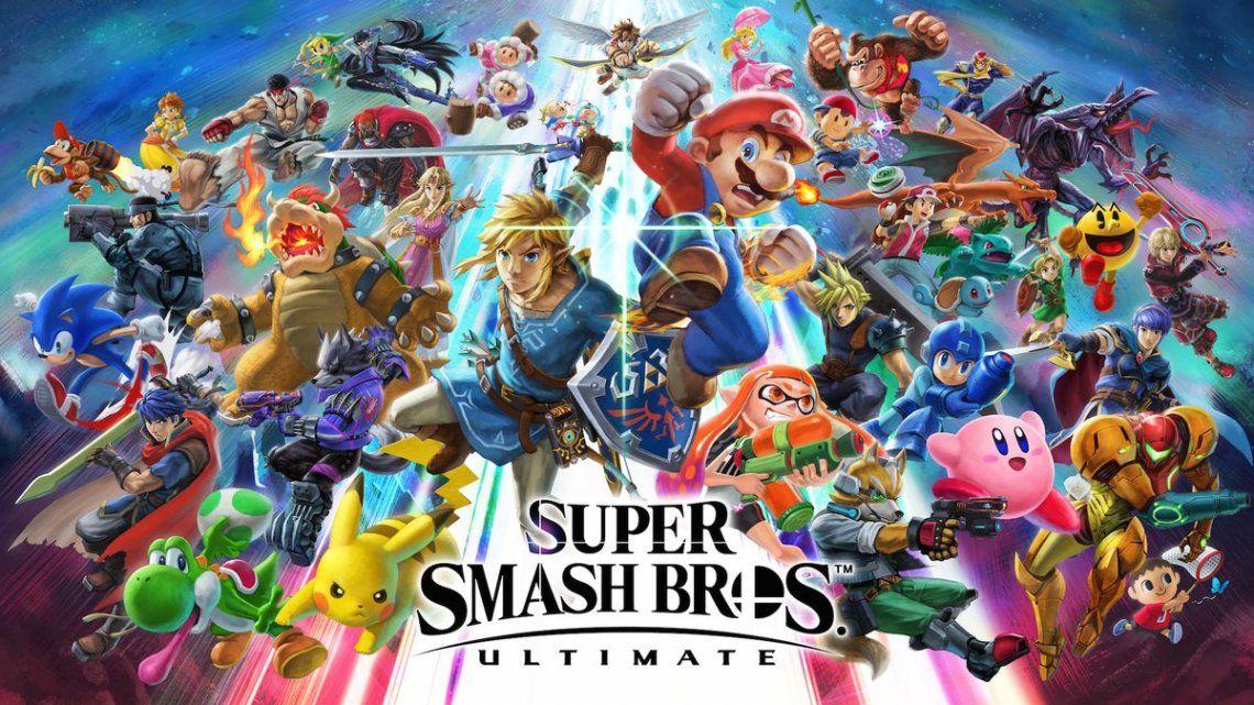 Llegó el turno de Nintendo: Super Smash Bros Ultimate y Fortnite, las estrellas