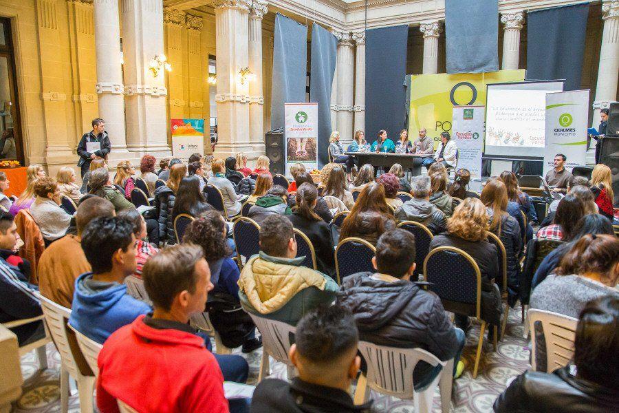 Lanzaron el programa Escuelas Verdes en Quilmes