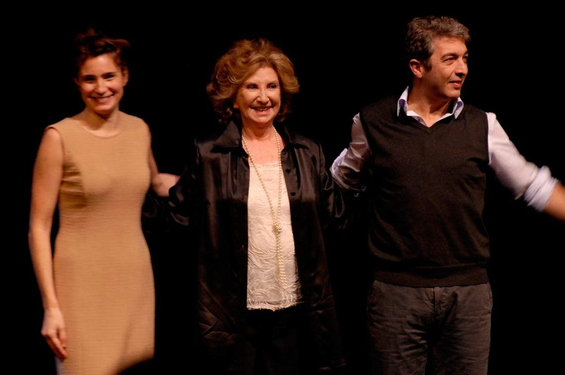 Norma Aleandro salió a bancar a Darín y le bajó los decibeles al escándalo con Valeria Bertucelli