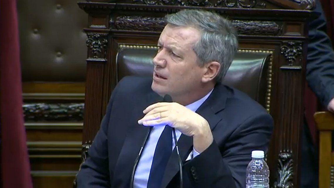 Emilio Monzó fue reelegido como presidente de la Cámara de Diputados y reivindicó la rosca