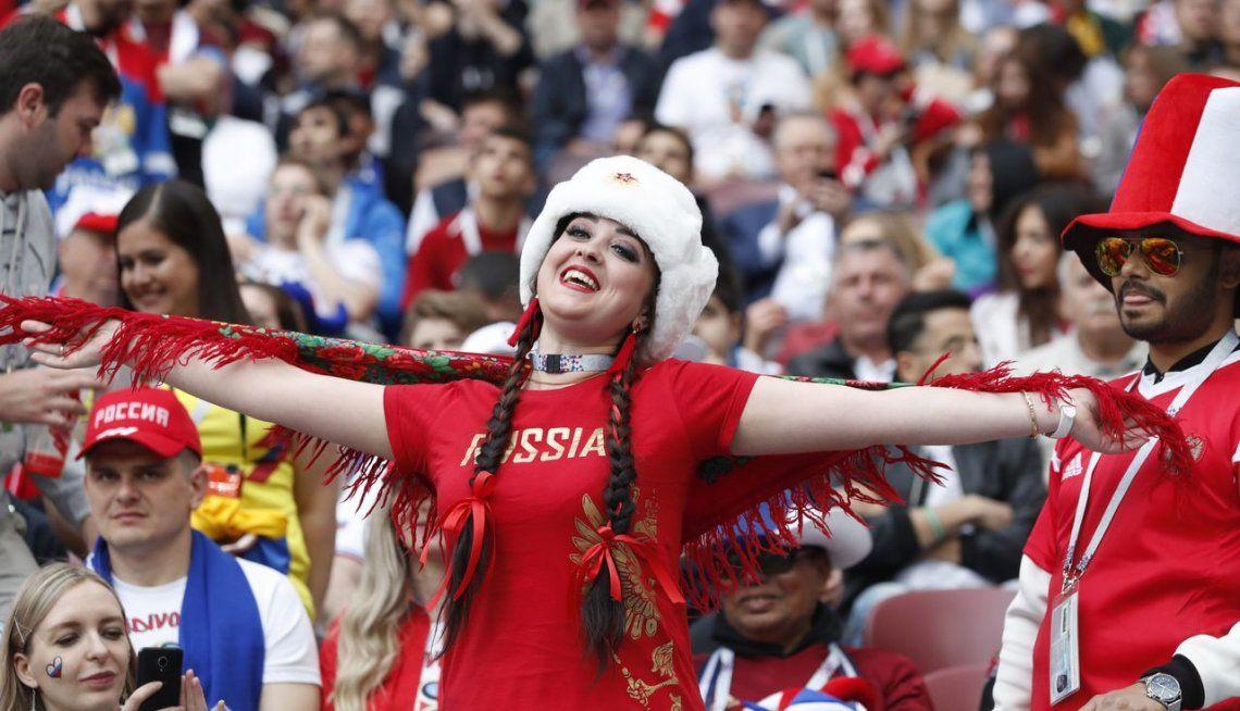 Todo el color de la apertura del Mundial de Rusia 2018