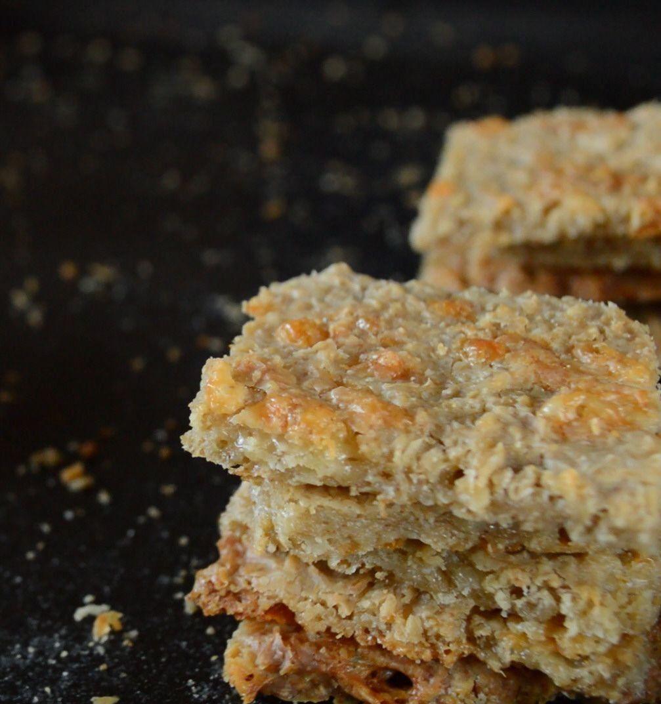 Una receta sencilla para la preparación de las galletitas de avena y queso
