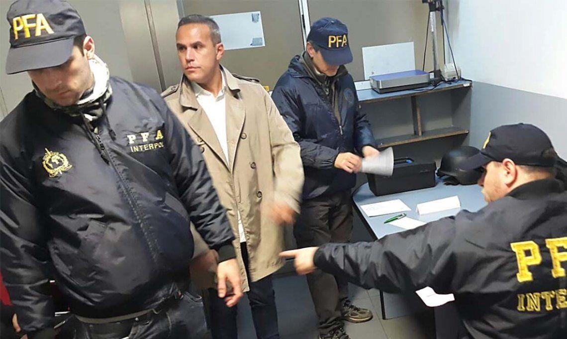 Mafia de los Cotenedores: Martínez Rojas llegó extraditado de EE.UU. y pidió declarar como arrepentido