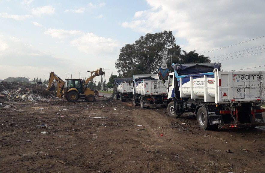 Retiraron 3.600 toneladas de residuos en 9 de Abril